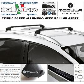 RANGE ROVER EVOQUE dal 2011 RAILING APERTI BARRE Portatutto MODULA Portabagagli Portapacchi ALLUMINIO NERE