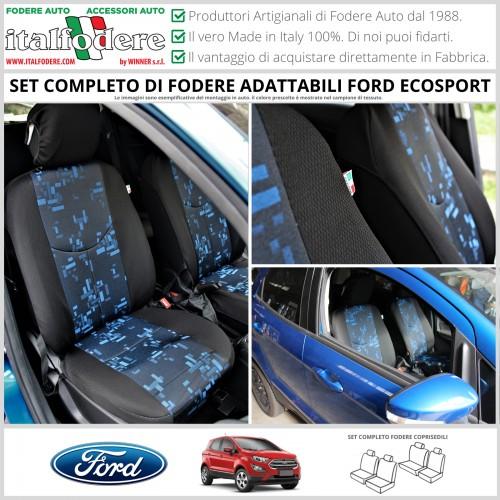 FODERE COPRISEDILI Adattabili per Ford Ecosport Fodera FODERINE COMPLETE