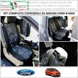 Fodere Coprisedili Su Misura Per Ford B-Max Fodera Foderine Complete Vari Colori