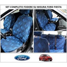 FODERE COPRISEDILI Su Misura per Ford Fiesta Fodera FODERINE COMPLETE VARI COLORI