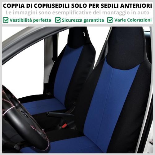 Coppia Coprisedili Specifici Peugeot 108 Fodere Foderine Solo Anteriori