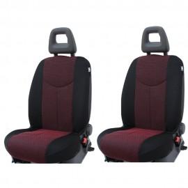 Coppia Coprisedili Specifici Nissan Qashqai Fodere Foderine Solo Anteriori
