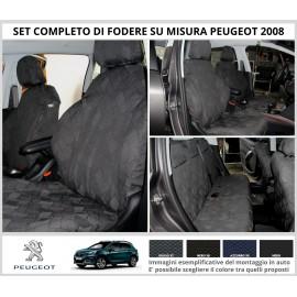 FODERE COPRISEDILI Su Misura per Peugeot 2008 Fodera FODERINE COMPLETE Colore 37