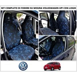 Fodere Coprisedili Su Misura Per Volkswagen Up Fodera Foderine Complete Vari Colori