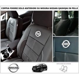 FODERE COPRISEDILI Su Misura Vera Pelle per Nissan Qashqai DAL 2014 in poi Fodera FODERINE Solo Anteriori