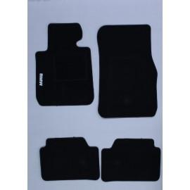 Tappeti Tappetini Su Misura Set Completo BMW SERIE 1 S1 (dal 2004 fino al 2011)
