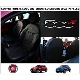 FODERE COPRISEDILI Su Misura Vera Pelle per FIAT 500X Fodera FODERINE COMPLETE