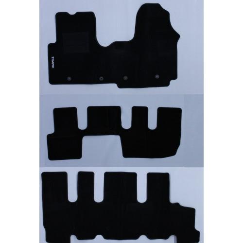 Tappeti Tappetini Su Misura Set Completo Renault TRAFIC 8 Posti (16 in poi) - 1
