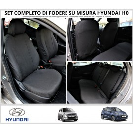 FODERE COPRISEDILI Su Misura per Hyundai I10 Fodera FODERINE COMPLETE VARI COLORI
