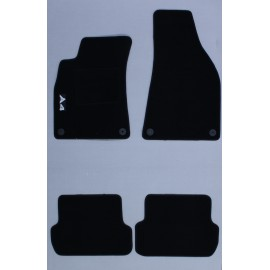 Tappeti Tappetini Su Misura Set Completo Audi A4 (04 fino a 07)