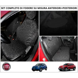FODERE COPRISEDILI Su Misura per FIAT 500X Fodera FODERINE COMPLETE