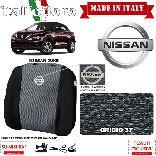 FODERE COPRISEDILI Su Misura per Nissan Juke Fodera FODERINE COMPLETE Colore 37