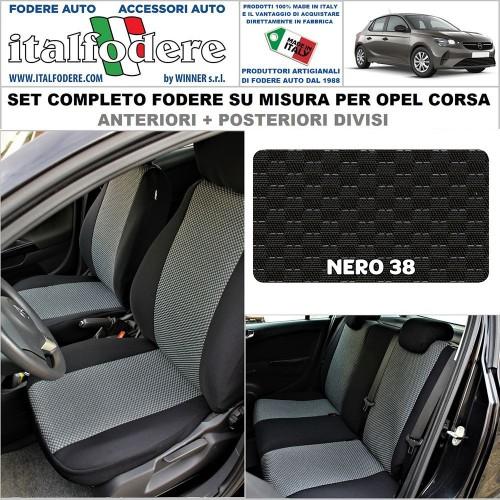 FODERE COPRISEDILI Su Misura per Opel Corsa Fodera FODERINE COMPLETE Colore 38