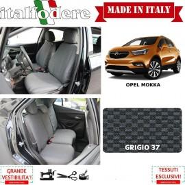 FODERE COPRISEDILI Su Misura per Opel Mokka Fodera FODERINE COMPLETE Colore 37