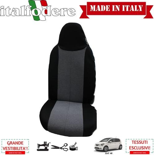 Coppia Coprisedili Specifici Seat Mii Fodere Foderine Solo Anteriori Colore 37