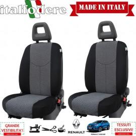Coppia Coprisedili Specifici Renault Kadjar Fodere Foderine Solo Anteriori VARI COLORI