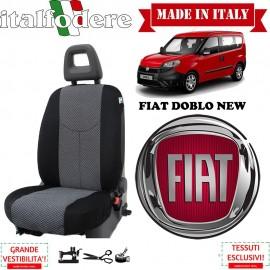 Coprisedile solo lato guida Fiat Doblo 2010 in poi Fodere Foderine Solo Anteriore Colore 37