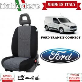 Coprisedile Specifico Ford Transit Connect Fodere Foderine Solo Lato Guida Colore 37