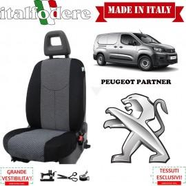 Coprisedile solo lato guida Peugeot Partner Fodere Foderine Solo Anteriore Colore 37