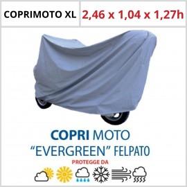 Coprimoto Felpato XL - 2,46 x 1,04 x 1,27h - in Materiale Speciale