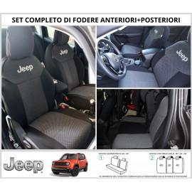 FODERE COPRISEDILI Su Misura per Jeep Renegade Fodera FODERINE COMPLETE VARI COLORI