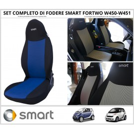 FODERE COPRISEDILI Su Misura per Smart Fortwo W450-W451 Fodera FODERINE COMPLETE VARI COLORI
