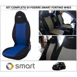 FODERE COPRISEDILI Su Misura per Smart Fortwo W453 Dal 2014 Fodera FODERINE COMPLETE VARI COLORI