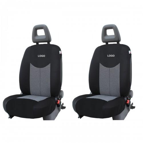 Coppia Coprisedili Specifici Hyundai Ix20 Con Loghi Fodere Foderine Solo Anteriori Vari Colori