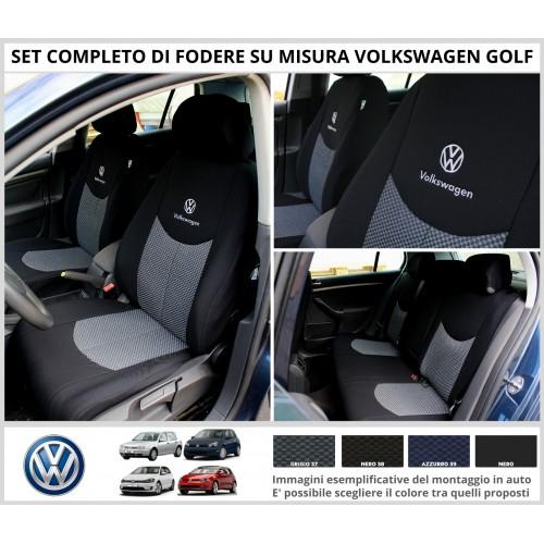 FODERE COPRISEDILI Su Misura per Volkswagen Golf Fodera FODERINE COMPLETE