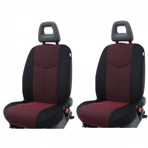Coppia Coprisedili Specifici Audi A4 Fodere Foderine Solo Anteriori Vari Colori