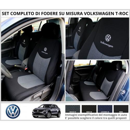 FODERE COPRISEDILI Su Misura per Volkswagen T-Roc Fodera FODERINE COMPLETE VARI COLORI