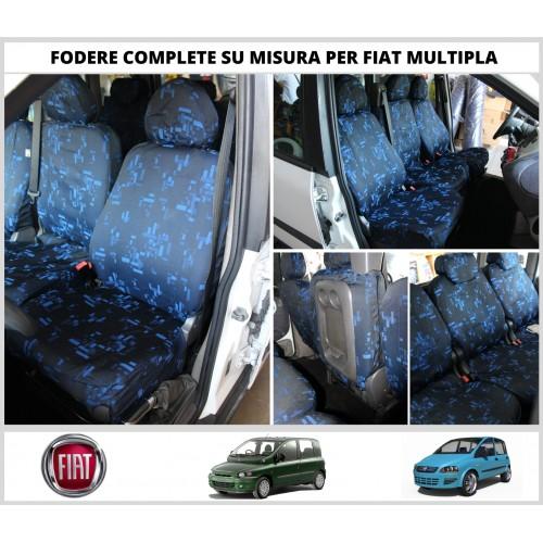 Fodere Coprisedili Per Fiat Multipla su Misura 6 Foderine SET COMPLETO VARI COLORI