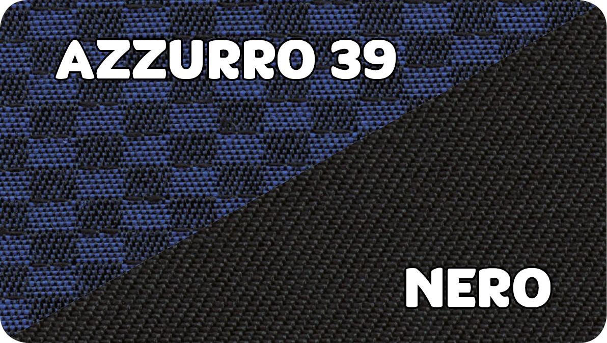 Azzurro 39-Nero