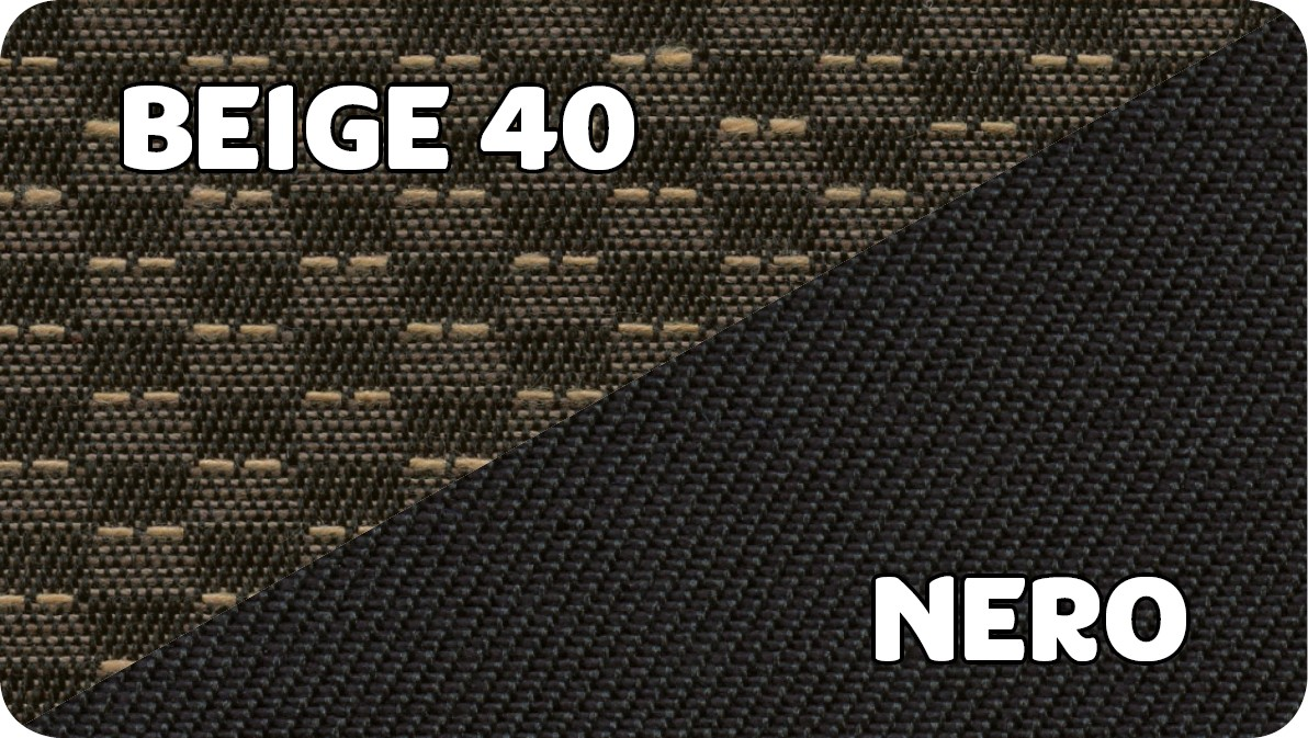 Beige 40-Nero