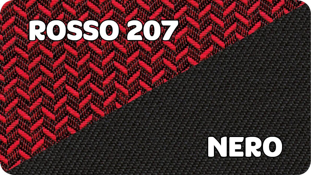 Rosso 207-Nero