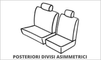 Posteriori Divisi Asimmetrici