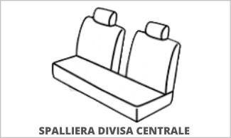 Spalliera Posteriore Divisa Centrale